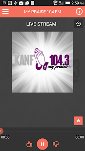 My Praise 104FM - screenshot
