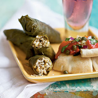 Lamb-Stuffed Grape Leaves