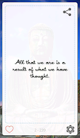 Screenshot of The Buddha Quotes