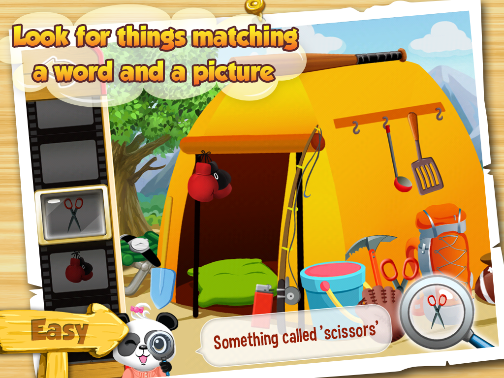 I Spy With Lola: Fun Word Game Screenshot 1