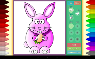 Screenshot of Didi's Coloring Book
