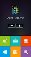 Screenshot of Acer Remote