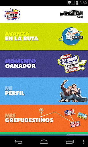 grefudestinos-y-la-ruta for android screenshot