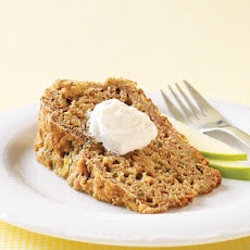 Whole-Grain Zucchini Apple Bread