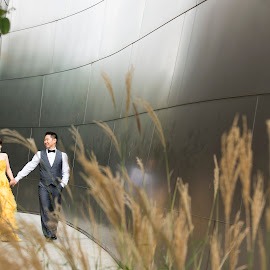 Beautiful Day by Yansen Setiawan - Wedding Other ( creative, art, losangeles, illusion, yellow dress, love, fineart, yansensetiawanphotography, prewedding, d800, wedding, lifestyle, photographer, la, lady in yellow, yansensetiawan, nikon, yansen, engagement )