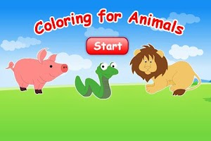 Screenshot of Coloring For Animals