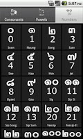 Screenshot of Learn Thai Alphabet Pro