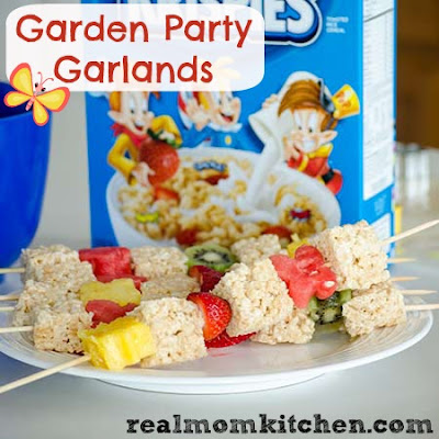 Rice Krispies Garden Party Garland