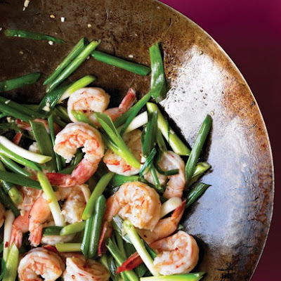 Shrimp and Scallion Stir-Fry
