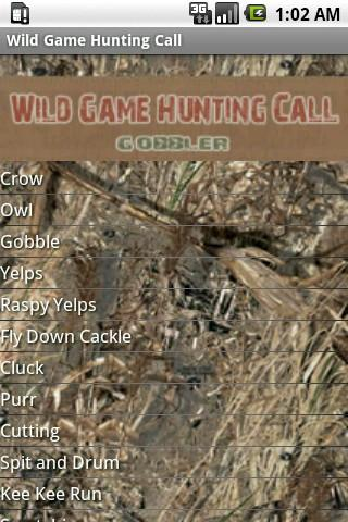 Wild Game Hunting Call