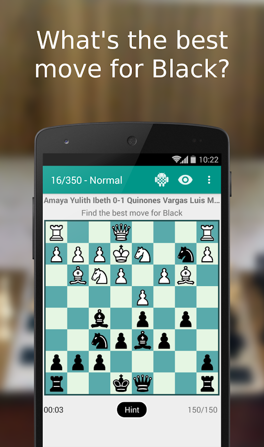 iChess - Chess Tactics/Puzzles Screenshot 1