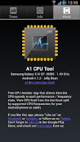 Screenshot of A1 CPU Tool