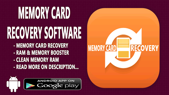 Memory Card Recovery Software - screenshot