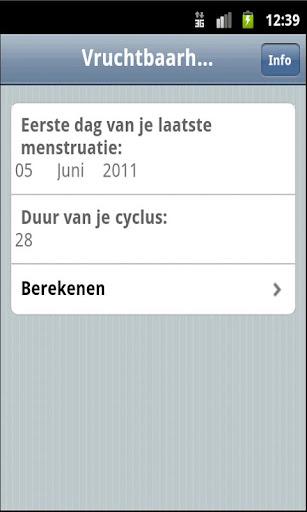 【免費健康App】VruchtbaarheidsCalculator-APP點子