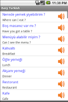 Screenshot of Easy Turkish
