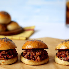 Turkey Sloppy Joes with Buttery Buns
