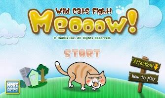 Screenshot of Meooow! Wild Cats Fight!