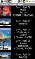 Screenshot of Ship Mate - Norwegian Cruises