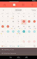 Screenshot of Once -A special period tracker
