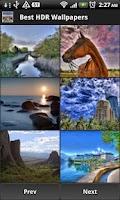 Screenshot of Best HDR Wallpapers