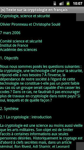 【免費書籍App】)s) Intro à la cryptologie-APP點子