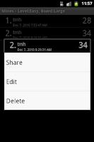 Screenshot of Mines (Minesweeper)