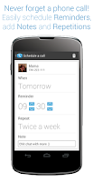 Screenshot of Callist - Call reminder&widget