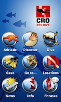 Screenshot of mX Diving Croatia - Top Guide