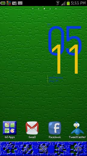 Puzzle G B Go Launcher Theme