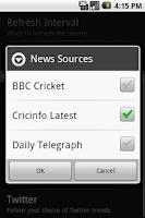 Screenshot of Sports Eye Cricket Special