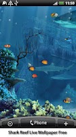 Screenshot of Shark Reef Live Wallpaper Free