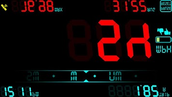 Screenshot of DigiHUD Speedometer