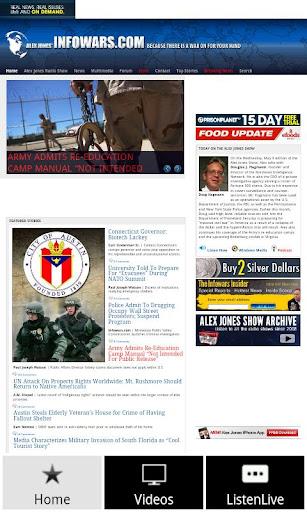 InfoWars Alex Jones Unofficial