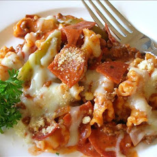 Pizza Skillet Supper