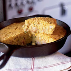 Cajun Crawfish Corn Bread