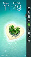 Screenshot of Love Island Live Locker Theme