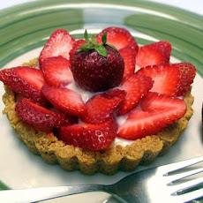 Strawberry Tart With Strawberry Cream