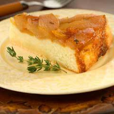 Honey-glazed Pear Upside Down Cake