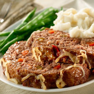 Hearty Italian Meat Loaf