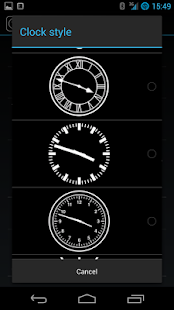 Clocki for SmartWatch - screenshot