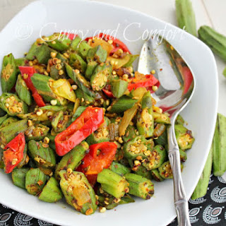 Spicy Curried Okra (Throwback Thursday)