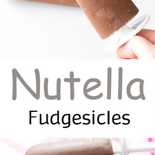 Nutella Fudgesicles (Fudge Popsicles)
