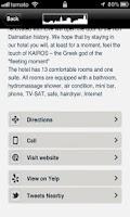 Screenshot of iCroatia - Trogir on your palm