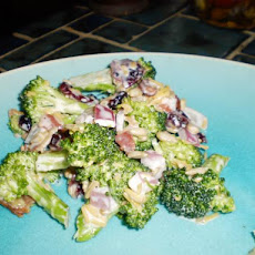 Broccoli With Cranberries Salad