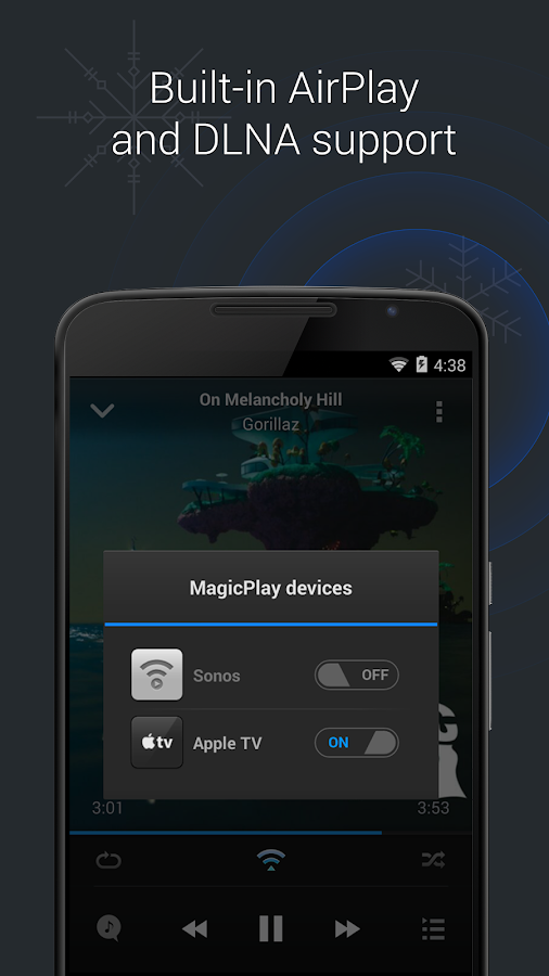 doubleTwist Music Player, Sync Screenshot 4