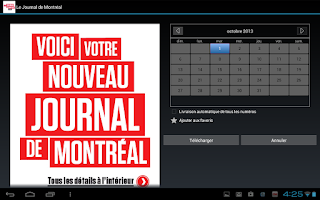 Screenshot of Journal de Montréal - éditionE