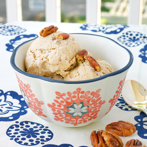 Vegan Butter Pecan Ice Cream