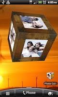 Screenshot of Photo Cube Live Wallpaper