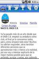 Screenshot of Onix C.B