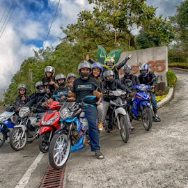 Sunday Riders by Ferdinand Ludo - People Group/Corporate ( sunday group, motorcycle, mini, riders )
